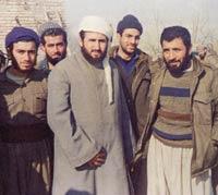 Krekar with IMK cadre, 1998